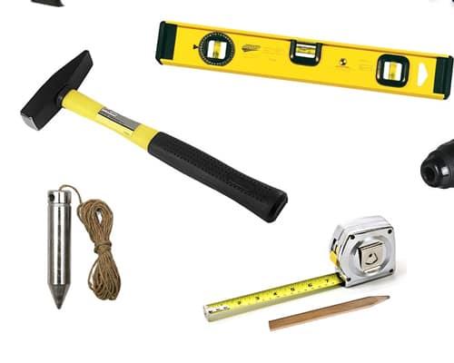 Инструменты для врезки межкомнатного замка