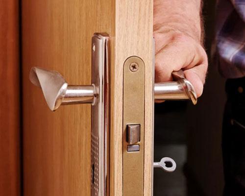 открытое дверное полотно